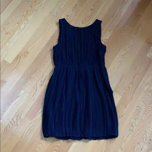Theory navy blue cocktail dress